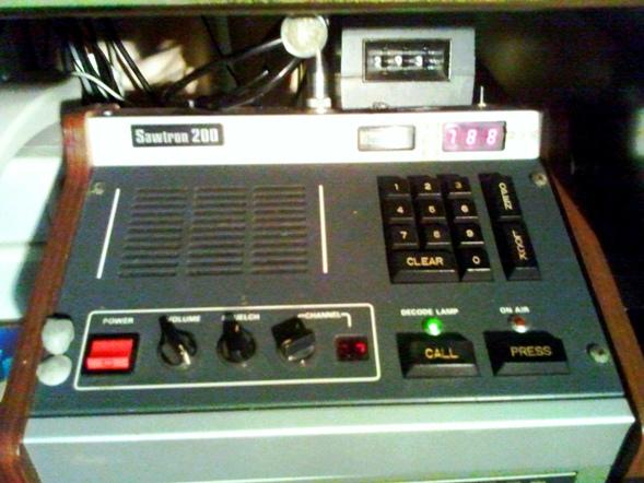 UHF CB Radio Sawtron 200 Base Station Console